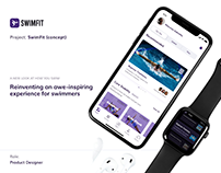 SwimFit - Reinventing a great experience for swimmers