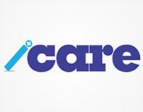 Logo design presentation for ICARE.