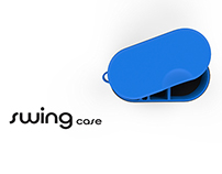 Swing Case | A CIC hearing aid storage box