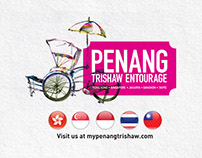 Penang Trishaw Entourage
