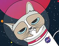 Grumpy Cat Hipster