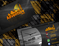 Business card For Adventure Tours