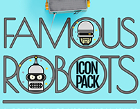 Free Famous Robots icons