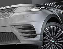 Introducing The new Range Rover Velar - Full 3D / CGI