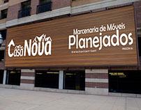 Casa Nova - Marcenaria de Móveis Planejados - Branding
