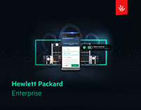 Mobile app & website for Hewlett Packard Enterprise