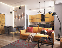"Apartament ""Yellow"""