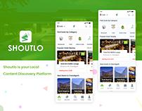 Best Deals, Events & Buffets Offer - Mobile App Design