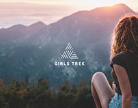 Girls Trek Visual Identity & Stationery Design