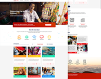 Web Design: CIMB Foundation & Cares