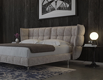 Bedroom renders Corona 3dsmax