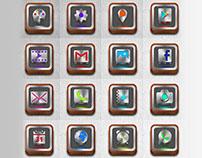 Metallic Icons