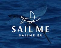 SailMe logo design