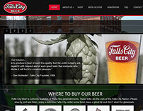falls city  beer site