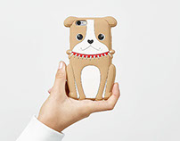 Product design for Bershka animals Iphone cases