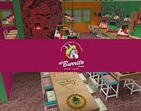 El Burrito (3D Visualization)
