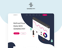 GENERECTIFY - Landing Page Design