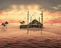 Desert mosque