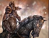 dark knight illustration