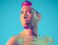 3D-LowPoly Portrait
