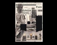 Revue Faire 25, Exhibitions views?