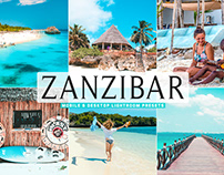 Free Zanzibar Mobile & Desktop Lightroom Presets