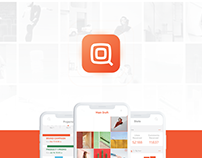 Qrate (Social Media Planning) Full UI/UX case study