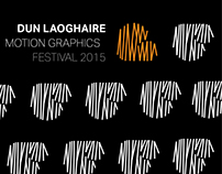 Promotional animation for  Motion Graphic Festival 2015