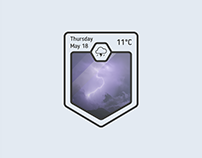 Another weather widget