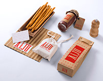 Diseño Logo - Restaurante Aleju