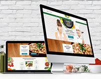 Bonduelle website presentation