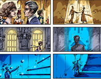 ADV concept Storyboards