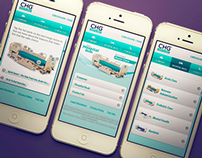 CHG Hospital Beds - Mobile Site Design