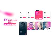 EF English Live UI/UX