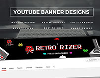 YouTube Banner Designs 2017