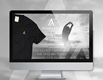 Landing Page - NEW fashion luxory brand - contest win
