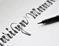 Brush Calligraphy