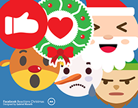 Facebook Reactions Christmas