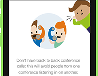 Conference Genie website design