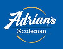 Adrian's@Coleman café logo