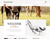 Horse Farm WordPress Theme
