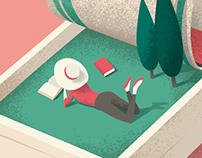 Editorial illustrations Redbook
