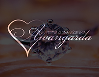 Logo Design for local shop with Jewellery - Awangarda