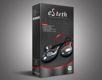 eSteth Digital Stethoscope Packaging