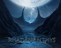 RHADAMANTHYS -'Midnight skies' cover design 2014