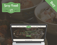 Sexy Food - Food & Restaurant Template