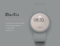 SmartWatch Face:Brilliant Grey & Time Sands