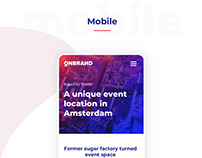 OnBrand '19 Conference website and branding