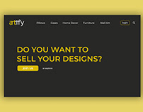 ARTIFY E-Commerce Website Design