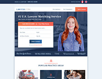 Lawyer Website Mockup